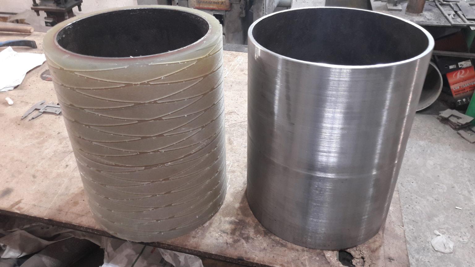 восстановление покрытий различного назначения валов,роликов колес,барабанов и т.п. позволяет применять во всех областях